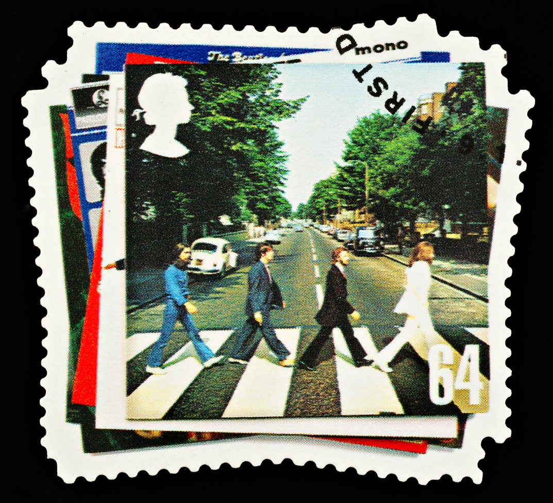 Beatlesien oma postimerkki